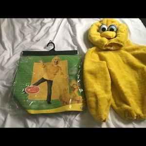 Adult extra large big bird costume